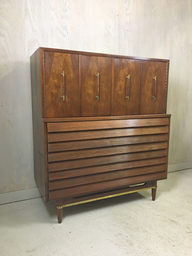 SALE  Dania Highboy for American of Martinsville by Merton Gershun