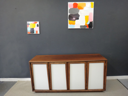 Reenvisioned Mid Century Credenza