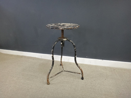 Industrial Metal Stool nbsp