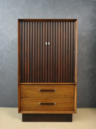 Lane Rosewood and Walnut WardrobeBureau
