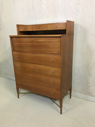 Paul McCobb Irwin Collection Highboy Bureau for Calvin Group
