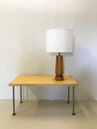 Mid Century Teak Table Lamp
