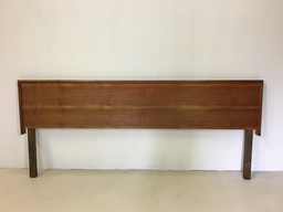 SALE  Kingsize Danish Modern Teak Headboard