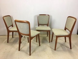 Set of Four Koefoed Larsen Teak Dining Chairs
