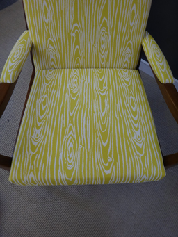 additional images for Mid Century British Upholstered Lounge Chair