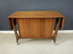 additional images for Mid Century Rolling Wood Bar