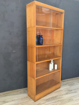 additional images for Mid Century Modern Barrister Bookcase