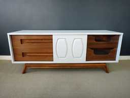 additional images for Updated Mid Century Low Credenza