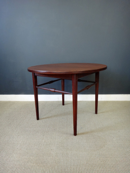additional images for On Sale - Danish Modern Round Teak Side Table