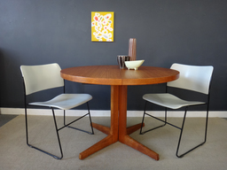 additional images for Round Danish Modern Teak Dining Table
