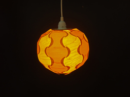 additional images for SALE - Wood Veneer Globe Lamp