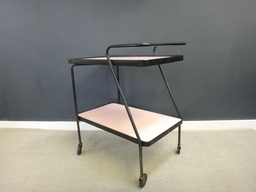 additional images for Vintage Pink and Black Bar Cart