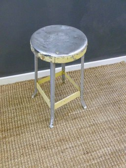 additional images for Vintage Aluminum Stool
