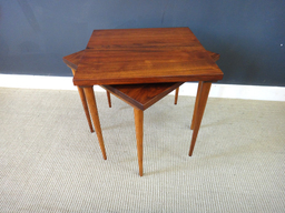 additional images for Pair of Petite Wood Accent Tables
