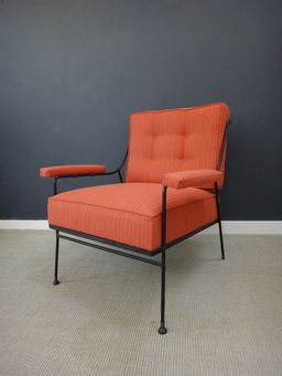 additional images for Upholstered Chair and Ottoman