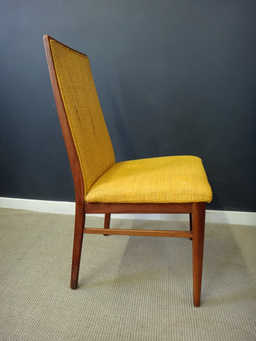 additional images for Set of Milo Baughman Upholstered Dining Chairs