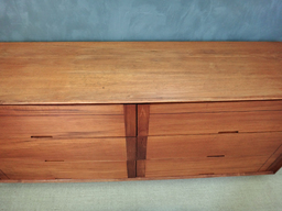 additional images for On Sale - Mid Century Teak Lowboy Bureau