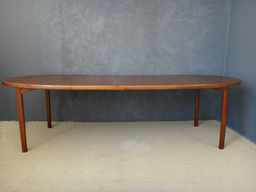 additional images for On Sale - Dux Danish Modern Oval Teak Dining Table