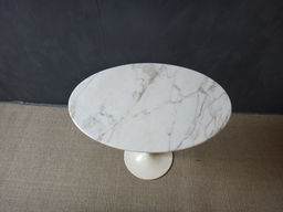 additional images for Saarinen Marble Top Tulip Side Table