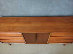 additional images for Lane Walnut Credenza/Lowboy