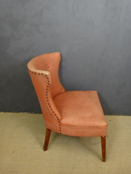 additional images for Pair of Mid Century Upholstered Accent Chairs