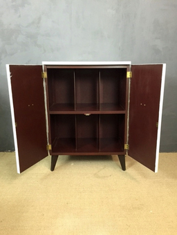 additional images for Mid Century Painted Record Cabinet