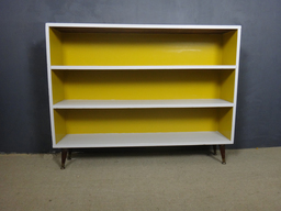 additional images for Mid Century Painted Shelf Unit