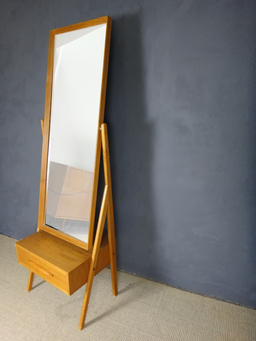 additional images for Arne Vodder Cheval Mirror