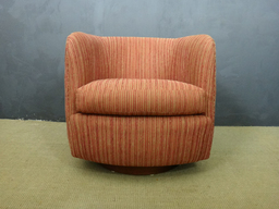 additional images for Milo Baughman Swivel Club Chair