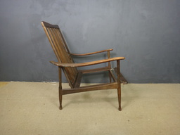 additional images for Highback Mid Century Lounge Chair