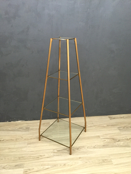 additional images for Metal and Glass Etagere