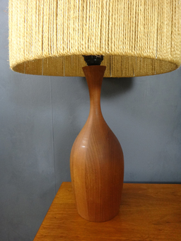additional images for Danish Modern Teak Table Lamp