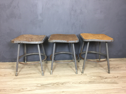 additional images for Industrial Metal Stools