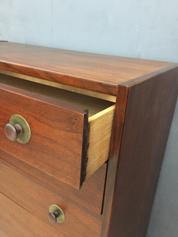 additional images for Founders Walnut Highboy Bureau