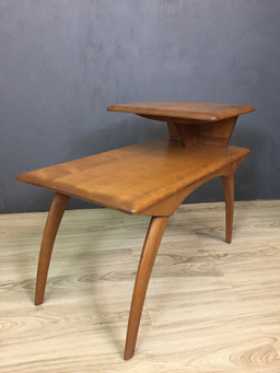 additional images for Pair of Heywood Wakefield Maple Side Tables
