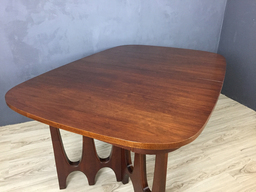 additional images for  Broyhill Brasilia Walnut Dining Table