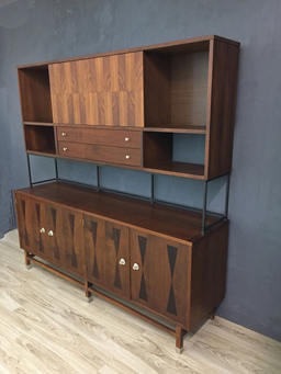 additional images for Stanley Wall Unit with Rosewood Inlay