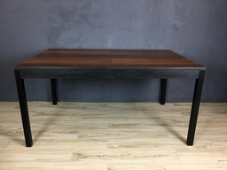 additional images for SALE - Milo Baughman Multi Wood Parsons Table