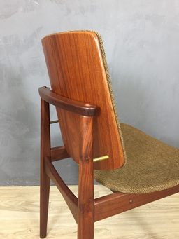 additional images for Hovmand Olsen Teak Dining Chairs