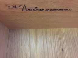 additional images for American of Martinsville Walnut Bureau