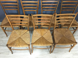 additional images for Italian Gio Ponte Style Dining Chairs