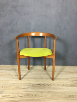 additional images for Mid Century Oak Accent Chair