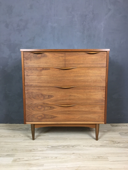 additional images for Harmony House Walnut Upright Bureau