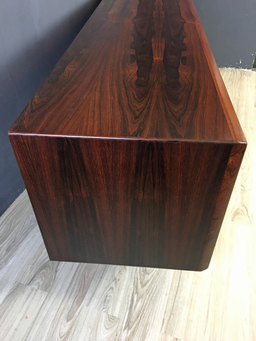 additional images for Danish Pedersen & Son Rosewood Credenza with Tambour Doors