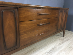 additional images for  Broyhill Emphasis Walnut Lowboy Bureau