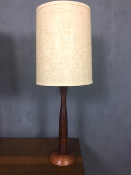 additional images for Pair of Danish Modern Teak Table Lamps