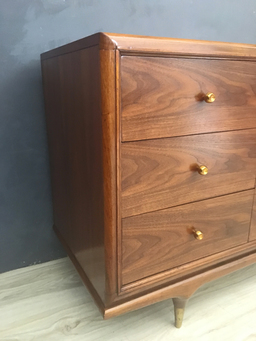 additional images for Kent Coffey Walnut Lowboy Bureau
