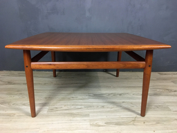 additional images for Danish Modern Teak Coffee Table in Style of Greta Jalk