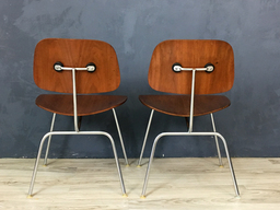 additional images for Pair of Eames Bent Plywood Chairs