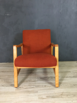 Additional Images For SALE   Jens Risom Upholstered Lounge Chair